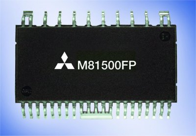 Mitsubishi drive-on-a-chip